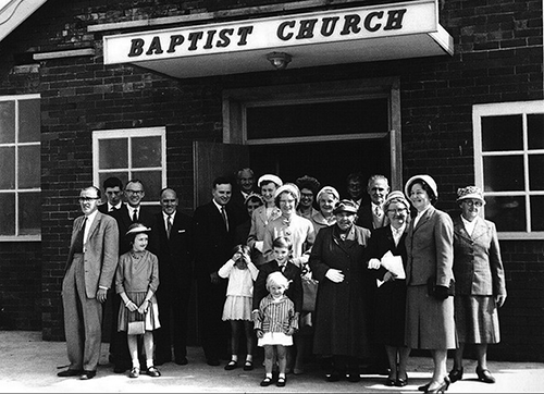Leyland Baptist Church 1965